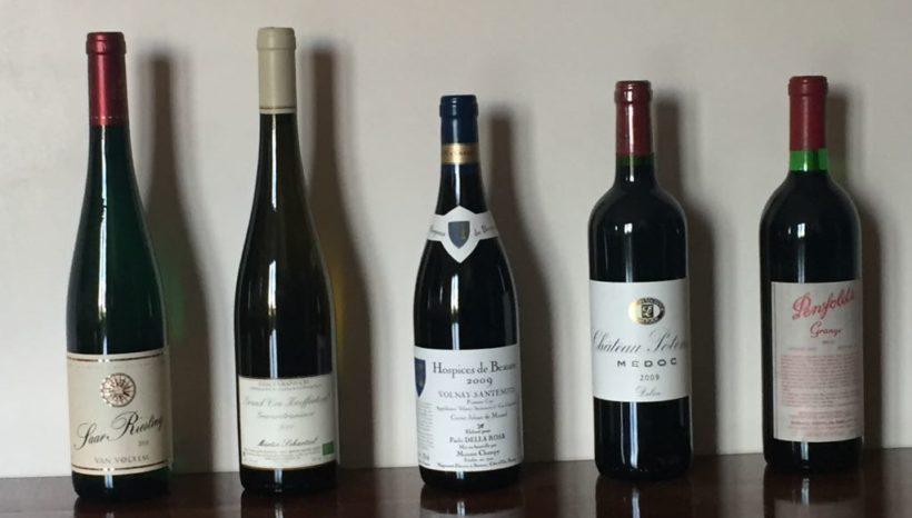 Il mondo del vino, cifre